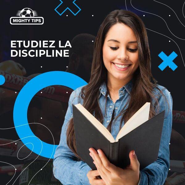 Etudiez la discipline